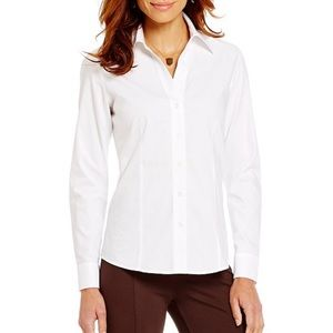 Investment Petites Gold Label Button Front Shirt
